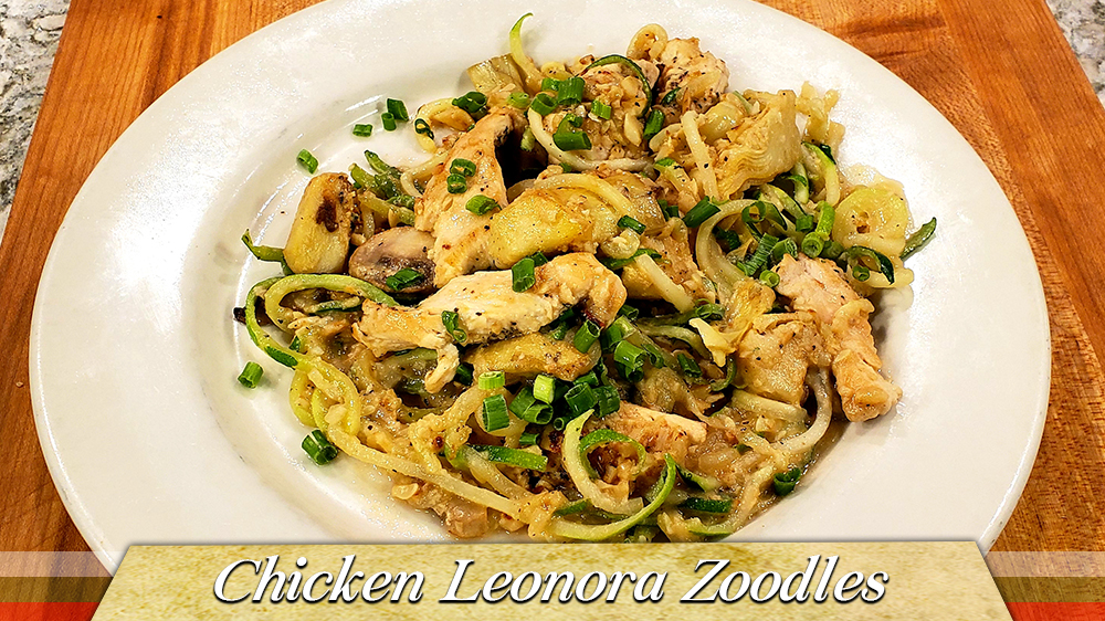 Chicken Leonora Zoodles