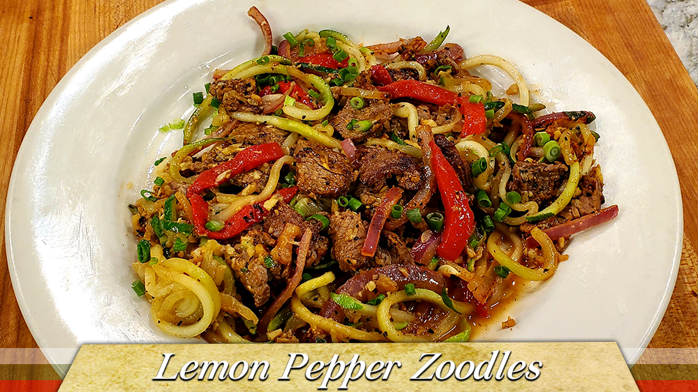 Lemon Pepper Zoodles