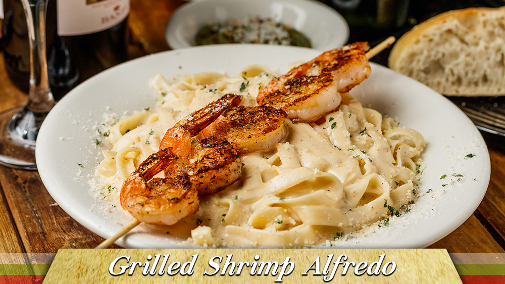Grilled Shrimp Alfredo Gulfport